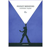 Pocket Monsters - Version Blue Photographic Print