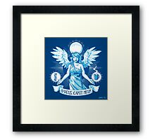 The Angel of Hangovers Framed Print