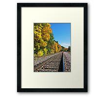 Scenic Railway Framed Print