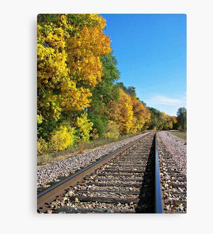 Scenic Railway Canvas Print