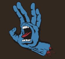 Spock Screaming Hand by neizan