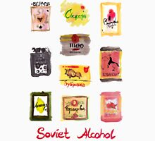 Soviet Alcohol Labels Unisex T-Shirt