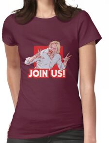 Evil ED from Evil Dead 2 Womens Fitted T-Shirt