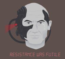 Resistance was Futile - Picard, Locutus of Borg by agliarept