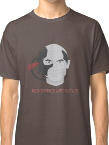 Resistance was Futile - Picard, Locutus of Borg Classic T-Shirt