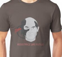 Resistance was Futile - Picard, Locutus of Borg Unisex T-Shirt