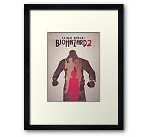 Biohazard 2  Framed Print