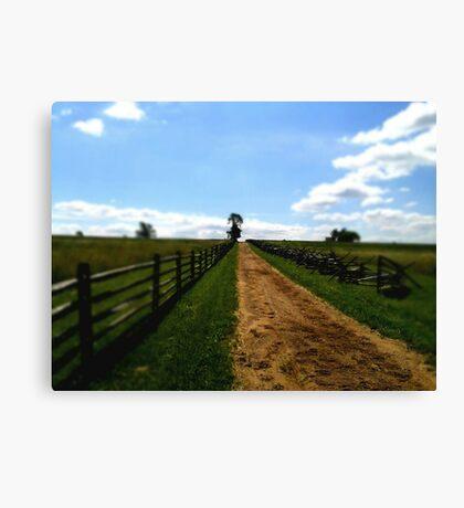 Battlefield Road Canvas Print