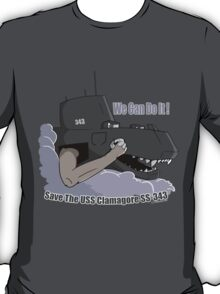 We Can Do It! Save The Clamagore! T-Shirt