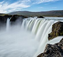 Mighty Goðafoss by Kristin Repsher