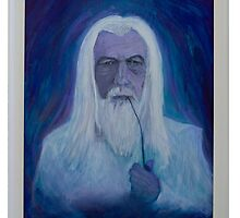 Gandalf ~ The White by Clint Smith