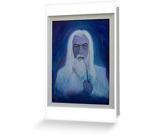 Gandalf ~ The White Greeting Card