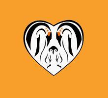 Emperor Penguin Family Love Heart T-Shirt