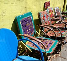 Colorful Chairs by Ashli Amabile