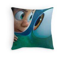 Arlo and Spot movie Throw Pillow
