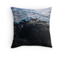 Glaciers! Throw Pillow