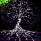 Halloween crazy tree by tia knight by Tia Knight