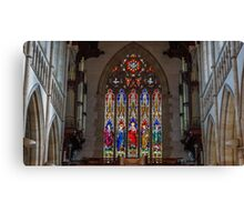 Stained Glass Windows - Sacred Heart Cathedral, Bendigo Canvas Print