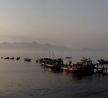 Ilhabela Dawn by Christopher Cookson