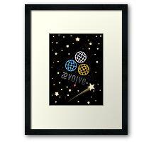 Ævolve Universe Framed Print