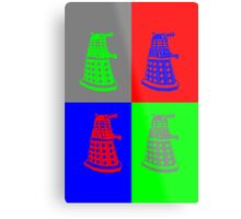 Daleks - Doctor Who Metal Print