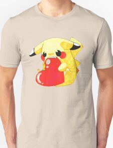 Pikachu Hearth T-Shirt