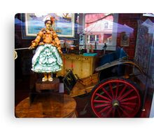 doll buggy Canvas Print