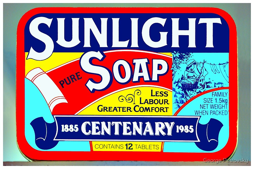 Soap with a message. by George Petrovsky