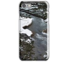 Bow River Falls Winter iPhone Case/Skin