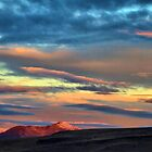 11/19/15 Winnemucca sunrise over Blue mnt. by DonActon