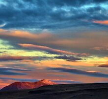 11/19/15 Winnemucca sunrise over Blue mnt. by DonActon