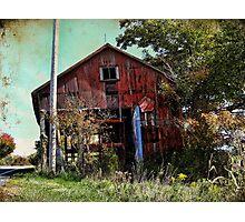 Rundown Shack Photographic Print