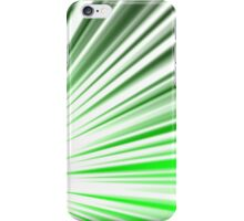 Green Streaks iPhone Case/Skin