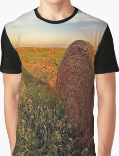 Hay in the Field Graphic T-Shirt