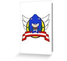 Sonic Boom Greeting Card