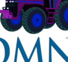 Harvesting Mitt Romney 2012 Sticker