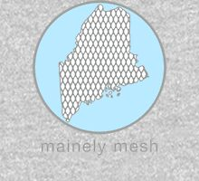 Mainely Mesh Logo Hoodie
