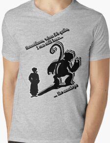 when it's quite Mens V-Neck T-Shirt