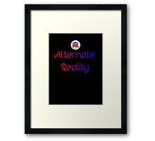 Alternate Reality Mitt Romney 2012 Framed Print