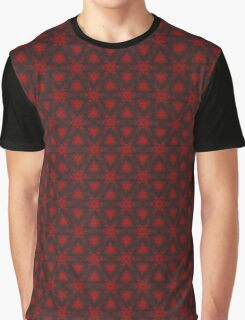 Electric Snowflake Graphic T-Shirt