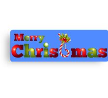 Merry Christmas 2015 Canvas Print