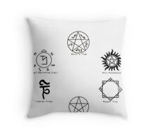 Know Your Signs Throw Pillow