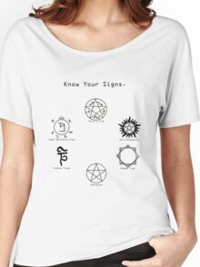 Know Your Signs Women's Relaxed Fit T-Shirt
