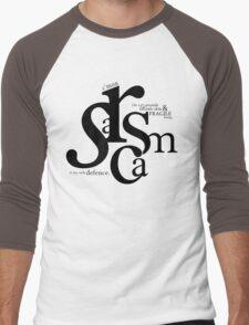 """Sarcasm is my only defense"" - Stiles Stilinski Men's Baseball ¾ T-Shirt"