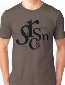 """Sarcasm is my only defense"" - Stiles Stilinski Unisex T-Shirt"