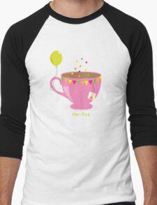 Par-Tea Men's Baseball ¾ T-Shirt