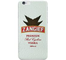 Zangief - Premium Red Cyclone Vodka iPhone Case/Skin