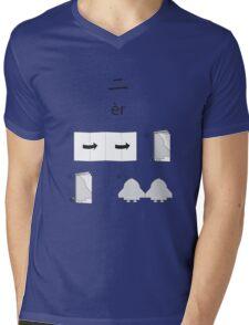 Two Mens V-Neck T-Shirt