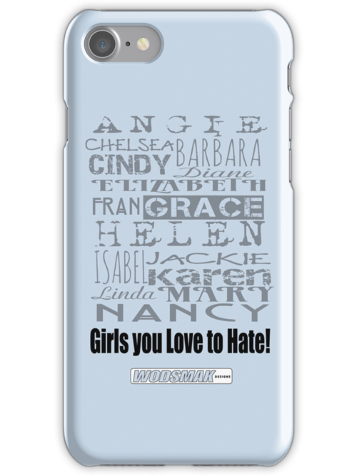 Girls you Love to Hate! by request in baby blue... by vbahns