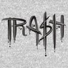 Trash Black Font by Bobfleadip